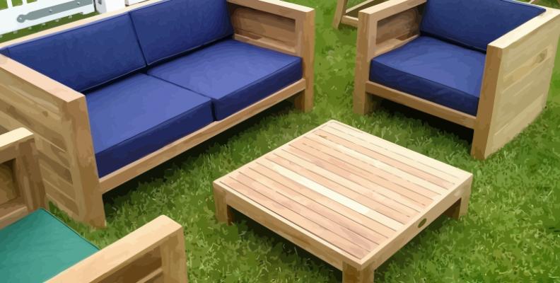 Furnish your garden in the best way